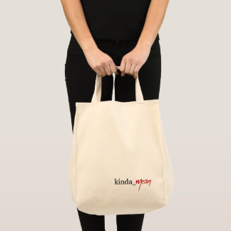 """kinda_mean"" GROCERY TOTE"