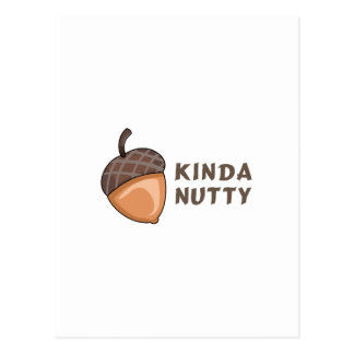 KINDA NUTTY POSTCARD