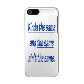 KINDA THE SAME INCIPIO FEATHER® SHINE iPhone 5 CASE
