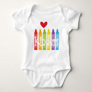 kinder teacher2 baby bodysuit