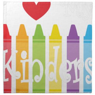 kinder teacher2 napkin