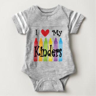 kinder teacher baby bodysuit