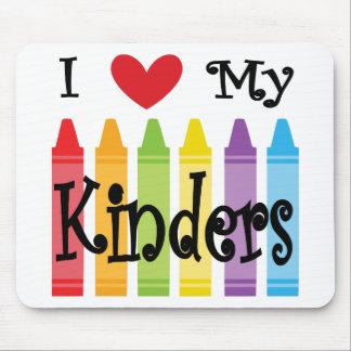 kinder teacher mouse pad