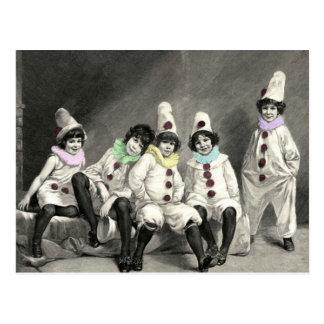 Kindercarneval Children Carnival Costume Vintage Postcard