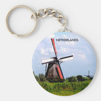 KINDERDIJK, NETHERLANDS KEY RING