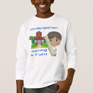 Kindergarten Ethnic Boy Learning is Fun T-Shirt