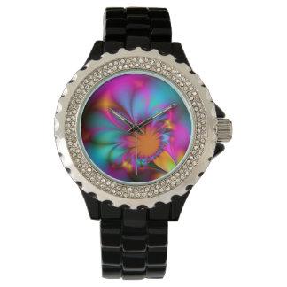 Kindergarten flower wristwatch