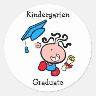Kindergarten Graduate cartoon Sticker