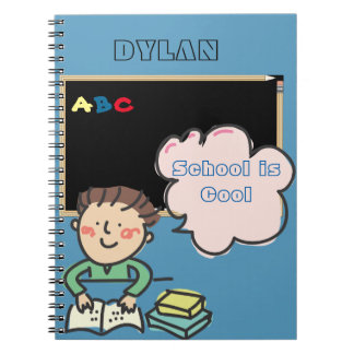 Kindergarten Letters or Alphabet  School Notebook