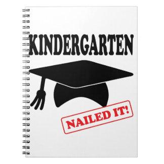 Kindergarten Nailed It Notebooks