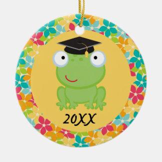 Kindergarten Preschool Frog Graduation custom gift Ornament