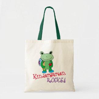 Kindergarten Rocks Book Bag
