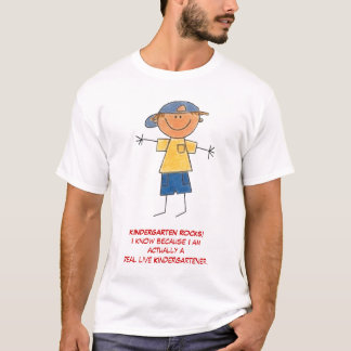 KINDERGARTEN ROCKS!I T-Shirt