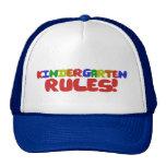 Kindergarten Rules Cap