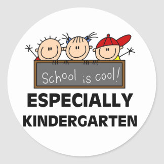 Kindergarten School is Cool Stickers