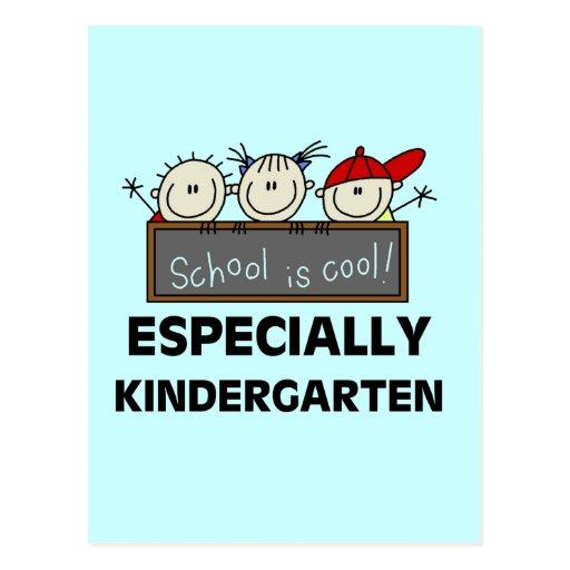 Kindergarten School is Cool Tshirts and Gifts Postcards