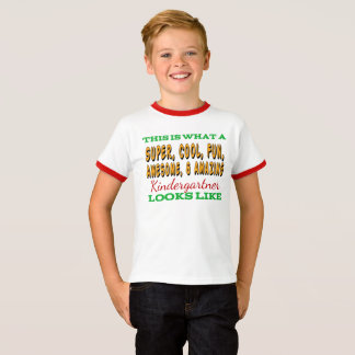 Kindergarten Shirt | Awesome Kindergartner