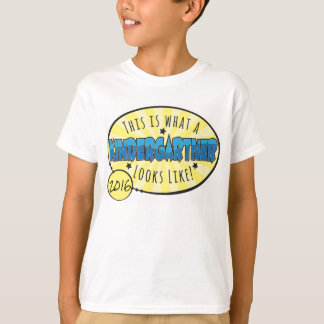 Kindergarten Shirt | blue & yellow