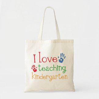 Kindergarten Teacher Gift Tote Bags