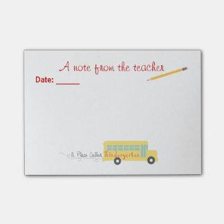 Kindergarten Teacher Post-it® Notes
