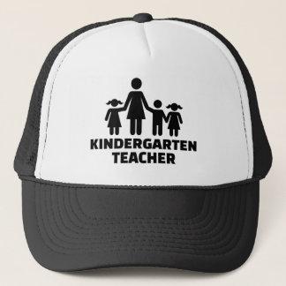 Kindergarten teacher trucker hat