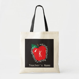 Kindergarten Teachers Rock Bag Budget Tote Bag
