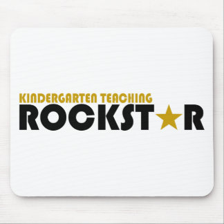 Kindergarten Teaching Rockstar Mouse Pad