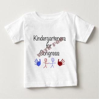 Kindergarteners for Congress Baby T-Shirt
