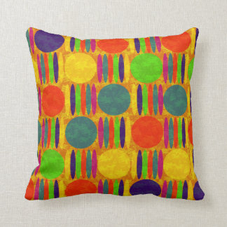 Kindergartner Colors Decor-Soft Orange Pillows