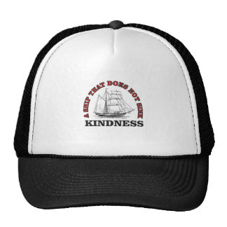 kindness boat cap