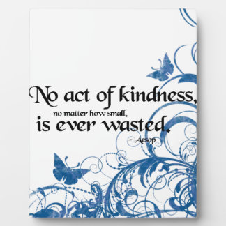 kindness butterfly swirl plaque
