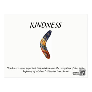 Kindness Card Postcard