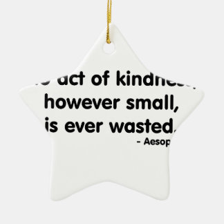 Kindness Ceramic Ornament