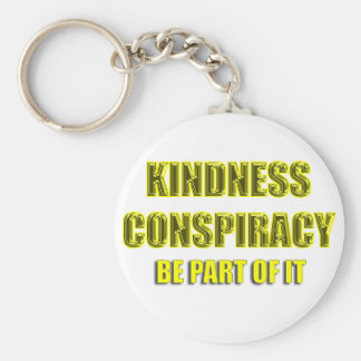 kindness conspiracy key ring
