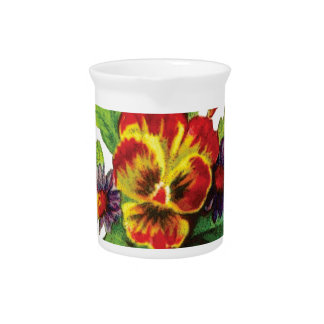 kindness flowers drink pitcher
