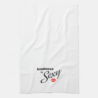 Kindness is Sexy kitchen towel