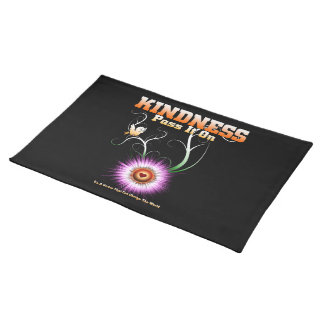 KINDNESS - Pass It On Starburst Heart Placemat