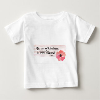 Kindness Pink Baby T-Shirt