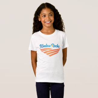 Kindness Rocks Girls Fine Jersey T-Shirt