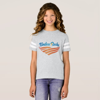 Kindness Rocks Girls' Football Shirt