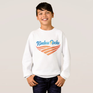 Kindness Rocks Kids Basic Sweatshirt