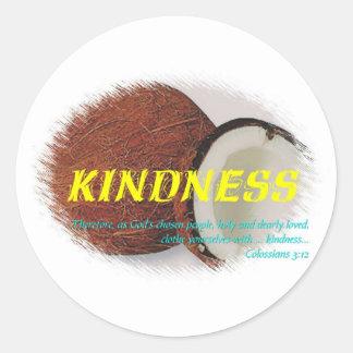 Kindness Round Sticker