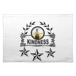 kindness stars placemat