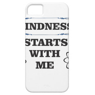kindness starts with me iPhone 5 case