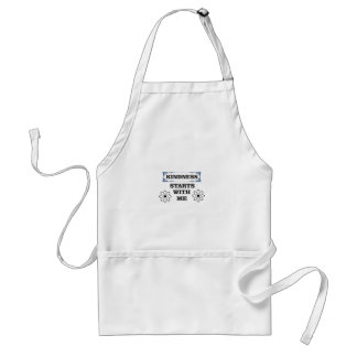 kindness starts with me standard apron