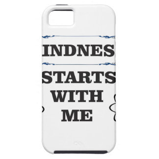 kindness starts with me tough iPhone 5 case