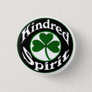 Kindred Spirit Band 3 Cm Round Badge