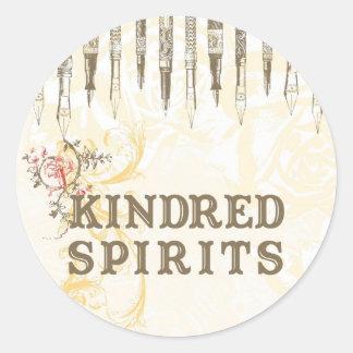 Kindred Spirits Classic Round Sticker