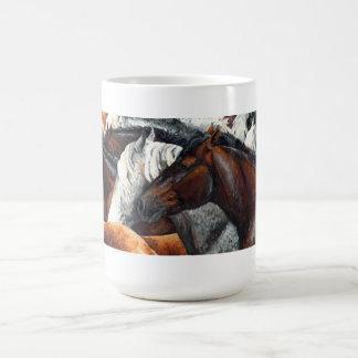 Kindred Spirits - Horse Herd Coffee Mug