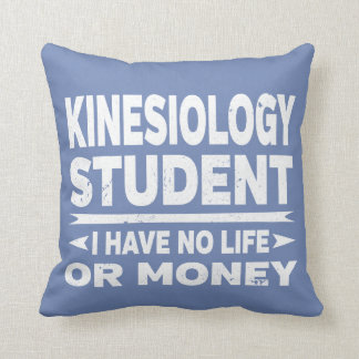 Kinesiology College Student No Life or Money Cushion